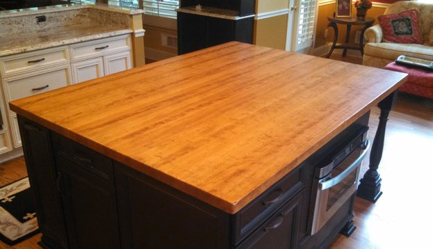 Cherry Distressed Edge Grain 2 San Diego - The Countertop Company
